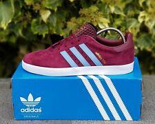 BNWB adidas originals ® 350 Trainers Claret & Blue West Ham Villa Burnley UK 7