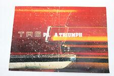 Oldtimer TR 6 P.I. Triumph Prospekt