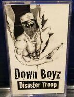 Down Boyz - Disaster Troop Cassette Tape rare Detroit rap hip hop undergound rap