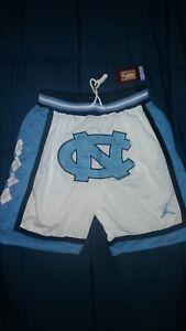 UNC North Carolina Just Don Jordan Shorts M-2X