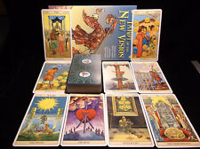 BRAND NEW SEALED! TAROT OF THE NEW VISION CARD & BOOK ORACLE LEARN NEW INSIGHTS