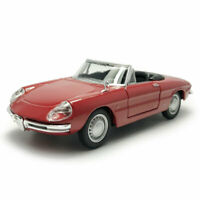 1/32 Scale Vintage Alfa Romeo Spider Model Car Metal Diecast Collection Gift