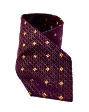 GUY LAROCHE Paris Cravatta Tie Silk 100% Made In Italy Luxury Seta