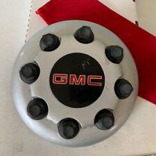 #V (1)2003- 2017 GMC Sierra Van 3500 Dually SILVER Front OEM Center Cap 15053704
