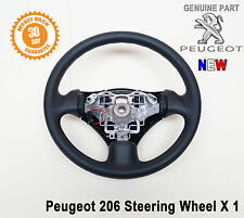 Peugeot 206 206SW Steering Wheel Black 4109LG Original Genuine Part New
