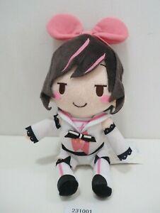 "A.I.Channel 231001 Kizuna AI Virtual YouTuber SEGA Plush 7"" TAG Toy Doll Japan"