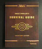 Fallout 4 Vault Dweller's Survival Guide Collector's Edition Prima Guide HC map