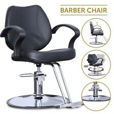 Classic Hydraulic Barber Chair Spa Shampoo Hair Styling Equipment Salon Leather