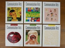6 Communication Arts CA Magazine 2003 Includes 3 Annuals, Graphic Design VG
