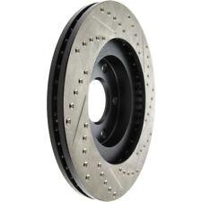 FRONT + REAR BRAKENETIC SPORT Drilled Slotted Brake Disc Rotors BSR74972