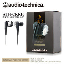 NEW AUDIO TECHNICA-HEADPHONES ATH-CKR10 IN-EAR HEADPHONE TITANIUM