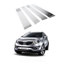Chrome B-Pillar Post Protector Cover Molding Trim for 2011 - 2013 Kia Sportage