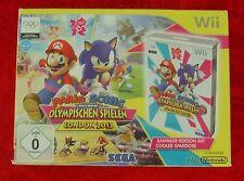 Mario & Sonic olympische Spiele London 2012, Nintendo Wii Spiel Sammler Edition