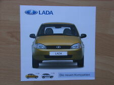 Lada 1118 + 1119 Kalina Prospekt / Brochure / Depliant, D, 09/05