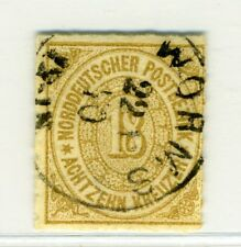 German States - North German Conf., Scott #11, Numeral of Value , Used, 1868