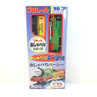 Tomy Talk N Action Percy in Box Thomas Plarail Trackmaster Motorized Sound Japan