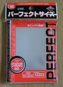 KMC Perfect Size Sleeves - 100 Stück - Klar - Magic, WoW, Pokemon, Force Attax