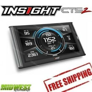 Edge Insight CTS2 Gauge Monitor for 1996 + Toyota Models OBDII Enabled