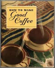 1935 Illustrated Advertising Recipe Book from Maxwell House Coffee