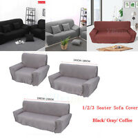 1/2/3 Modern Sofa Couch Slip Over Easy Stretch Cover Elastic Settee Protector US