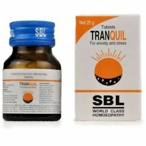 SBL Tranquil Tabs 25g  for stress and anxiety + Free Shipping