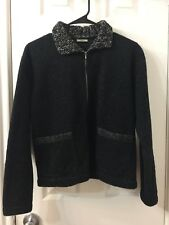 Dosa Black Grey Winter Coat Sz 1