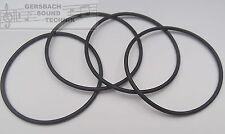 4 Pièces Courroies de Transmission pour Bande CD Etc. 143 mm X 2,0 MM