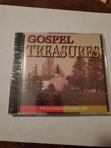 Gospel Treasures - Various Artist - 2 Cd Set - New CD