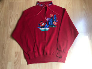 "Vintage 80s ""Love That Cowgirl Sweatshirt Women's size M"
