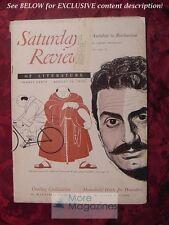 SATURDAY REVIEW August 19 1950 GIOVANNI GUARESCHI ASHLEY MONTAGU KATHLEEN SPROUL