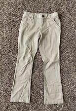 Girl's Old Navy Stretch Extensible Khaki Bootcut Slacks Pants, Size 10 00004000