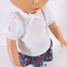 Disney Baby Doll Clothes/ White Puff Tee /Animator's collection Princess 16 inch