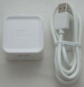 NEW OEM JBL Charge/Flip 2 Speaker Power AC Adapter WHITE 5V 2.3A Home Charger