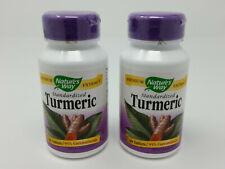 Nature's Way Standardized Turmeric 95% Curcuminoids 60 Tablets 2-Pack 120