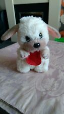 1980S APPLAUSE LITTLE BEGGAR DOG Sandy Coloured Pup Vintage / Retro