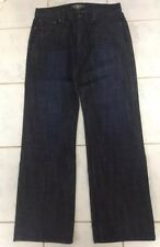 Lucky Brand Relaxed Straight Handcrafted 32 X 32 Denim Blue Jeans New