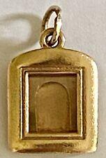 ❤️James Avery Picture Frame Charm 🖼14K Gold - Retired - 5.2 g  Rare w/ JA Box❤️