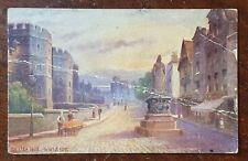 1912 Castle Hill, Windsor Postcard to Dorothy Roberts, Bellvue Pk, Cork, Ireland