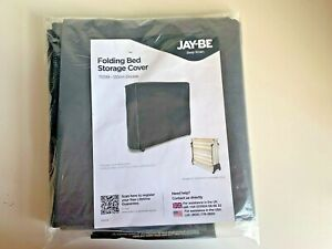 Jay Be Double Folding Guest Bed Storage Cover Grey Free UK Postage Only Cover