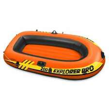 Intex Explorer Pro 2 Person Youth Inflatable Boat Raft (Oars/Pump Not Included)