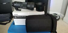 Sigma DG 745-306 150-600mm f/6.3 OS HSM DG Contemporary Lens