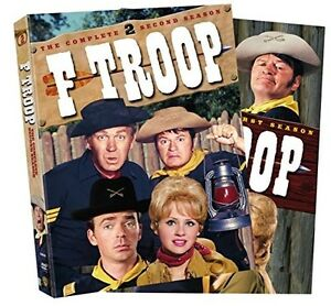 F TROOP - COMPLETE SERIES COLLECTION 12 DISC BOXSET REGION 4 New & Sealed!
