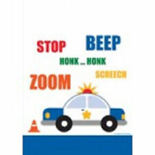 Traffic Jam Birthday Party Loot Favor Bags Police Car