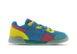 REEBOK WORKOUT PLUS PAQ Men's Trainers (UK 8.5 & 9 &10)Multicoloured Brand New
