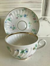 LOMONOSOV RUSSIAN IMPERIAL PORCELAIN, Cup and Saucer PERFECT