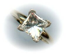 Solitaire moissanite 1,75 carats