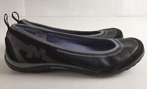 Merrell Black Slip On Flats Casual Shoes Size US/AU 10.5 UK 8 EU 42