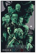 Poster A3 Breaking Bad Walter White Jesse Pinkman Serie Cartel 05