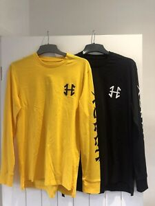 Mens Long Sleeve t shirts medium new bundle Hoozy