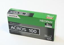 10 Rolls  FUJI NEOPAN ACROS 100  120 Roll film  from Japan exp 2019/10 or later